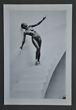 Helmut Newton Original Photo Litho 27x40cm In my studio Paris 1978 Special Nude