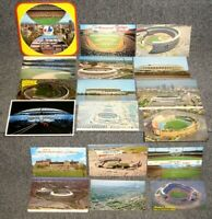 BASEBALL STADIUM POSTCARD COLLECTION LOT OF 18 DIFF EXPOS DODGERS ASTROS METS