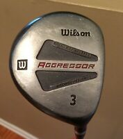 Wilson Aggressor #3 Fairway Wood - Right Hand - Men's -Graphite Shaft Men's Flex