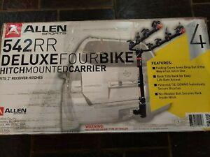 Allen Sports 4-Bike Hitch Racks for 2 in. Hitch 4 cap
