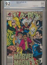 Kid 'n Play #9! (Marvel 1992) Rare Venom Appearance! PGX (Like CGC) 9.2 SEE PICS