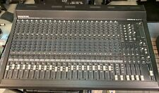 Mackie Sr24-4 Vlz Pro Audio Mixer 24-Channel with Road Case Great shape