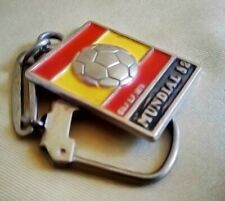 Spain Espana Mundial 82 FIFA Football World Cup Keychain Key Ring