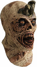 Halloween CURSED ZOMBIE MUMMY ADULT LATEX DELUXE MASK COSTUME NEW