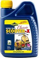 Putoline Classic Scooter X 2 Stroke Oil for Lambretta & Vespa Fully Synthetic