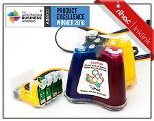 PIGMENT RIHAC CISS for Epson Workforce WF3520 WF3540 WF3530 138 cartridge ink