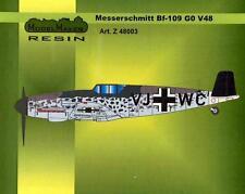 "MESSERSCHMITT Bf-109 G-0 V48 ""BUTTERFLY GUSTAV"" COVERSION SET 1/48 MODELMAKER"