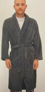 Tommy Hilfiger Men Relaxed Fit Plush Fleece Robe