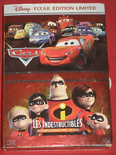 CARS/Les Indestructibles Collector Edition Limitée - Disney/PIXAR - 2 DVD