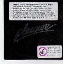 (BU206) Pleasure, Pleasure - DJ CD