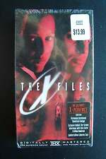 X Files VHS Tape 1998 Factory Sealed Never Played