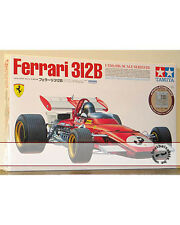 TAMIYA 1/12 BIG SCALE FERRARI 312B ICKX ANDRETTI with PHOTO ETCH DETAIL