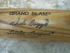 "Nice 28"" Wade Boggs Louisville Slugger 225Ll Little League Baseball Bat, Ex+"