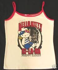 KiLaRa Hello Kitty Tank T shirt Top  Glitter NWT Tee T shirt Blouse Sz M