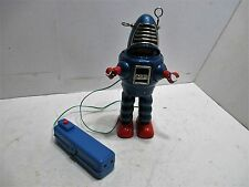 ROBBY PLANET ROBOT BATTERY OPERATED YOSHIYA 1962 TESTED WORKS GOOD ALL TIN