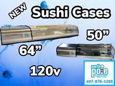 50 Infrico Refrigerated Sushi Case Left Side Compressor 120v