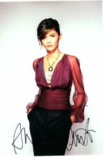 Audrey Tautou signed autógrafo 20x30cm amelie en persona Autograph coa da Vinci