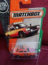 General Lee Dukes of Hazzard Matchbox 70 Datsun 510 rally custom.