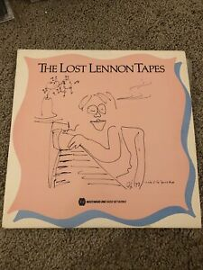 THE LOST LENNON TAPES SHOW WESTWOOD ONE BEATLES double LP September 3 1990