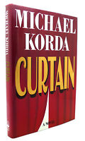 Michael Korda CURTAIN A Novel 1st Edition 1st Printing