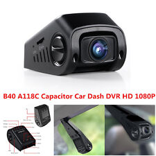 B40 PRO A118C Capacitor 170° HD 1080P Car Dash Camera DVR Video Recorder Cam Kit