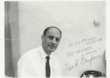 FRANK GASPARRO - INSCRIBED PHOTOGRAPH SIGNED