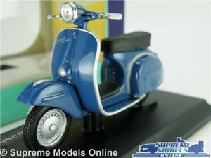 VESPA 150 SPRINT VELOCE 1969 SCOOTER BIKE MOPED MODEL 1:18 SIZE BLUE MAISTO T3