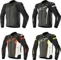 Alpinestars Missile Jacket - Motorcycle Street Bike Riding Race Leather Tech-Air
