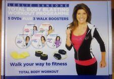 Leslie Sansone: Total Body Blasting Workout Programme 5 DVD's NEW Free Postage