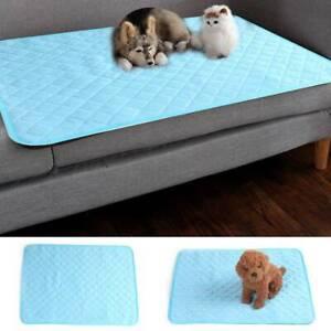 Self Cooling Mat Dog Cat Pet Self Cool Pillow Hot Weather Large Bed Pads