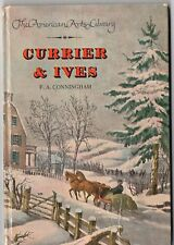 Vintage 1950 Currier & Ives Book - F.A. Conningham - American Arts Library