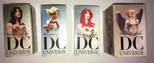 Women of the DC Universe Statues Adam Hughes series 1 (Set of 4) MIB
