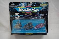BRAND NEW Micro Machines Babylon 5 set 5 RARE