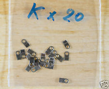 Case clamp mounting  tab K (4.0x2.0mm) 20 pieces for ETA Valjoux movements
