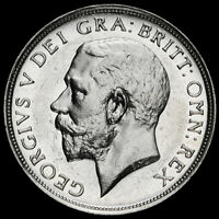 1911 George V Silver Proof Shilling, A/UNC