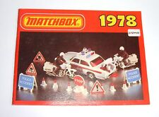 Very Rare French Matchbox Toys Catalogue, Dated 1978, - Superb Mint.