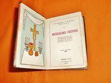 castegnaro-de santi, messalino festivo aggiornato al concilio vaticano II, 1965