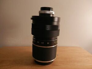 Lentsar 500mm F:8 Mirror Lens #3672 With Carrying Case