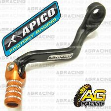 Apico Black Orange Gear Pedal Lever Shifter For KTM SX 65 2010 Motocross Enduro