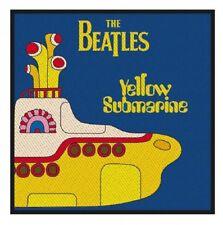 THE BEATLES - Patch Aufnäher Yellow Submarine 10 x 10 cm