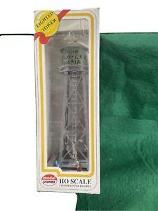 HO Lighted Water Tower Model Power # 631 (HO10051)