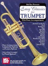 Classiques facile pour trompette-avec accompagnement de piano