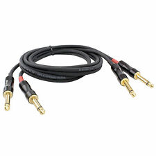 "Blastking C2Q2Q-25 25 Ft. / 7.62 meters Dual 1/4"" to 1/4"" Interconnect OFC Cable"