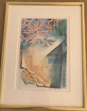 Signed, limited edition lithograph by Magnus Krook (Swedish)