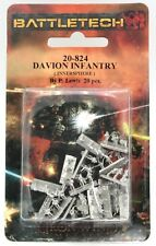 Battletech 20-824 Davion Infantry (Inner Sphere) (Pack of 20) Iron Wind Metals