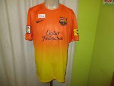 "FC Barcelona Original Nike Auswärts Trikot 2012/13 ""Qatar Foundation"" Gr.L Neu"