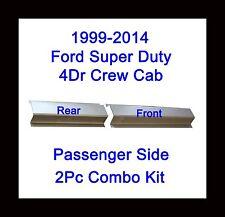 1999-2014 Ford Super Duty Crew Cab Passenger side 2Pc Rocker Panel Front & Rear