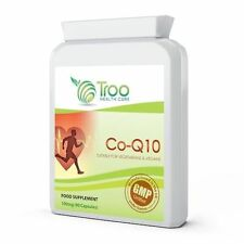 Troo Health Co Enzyme Q10 Coq10 100mg 90 Capsules