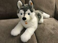 """Steiff Bernie Husky Dog 34"""" Large Toy"""