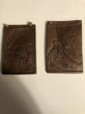 Clay Tiles With Bushmen And Zulu